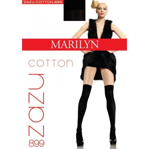 long socks cotton Ilgos medvilninės kojinės Marilyn Zazu cotton
