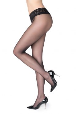 Pėdkelnės su silikono juostele Marilyn Erotic vita bassa 30 den
