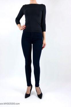 Džinsai Goodies Blue Skinny goodies pants jeans melyni skinny dzinsai kelnes