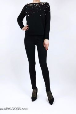 Džinsai Goodies Black Skinny dzinsai kelnes juodi goodies pants jeans