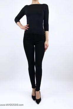 Juodi džinsai Goodies Black NORMAL Medium & High waist goodies pants jeans goodies juodi dzinsai kelnes