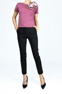 Klasikinės kelnės BLACK RENTEX 7/8 & STANDART