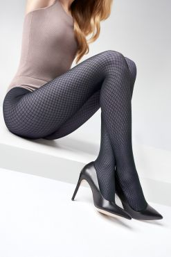 tights bodystocking Pėdkelnės Marilyn GRACE N05 Navy Blue 40 den