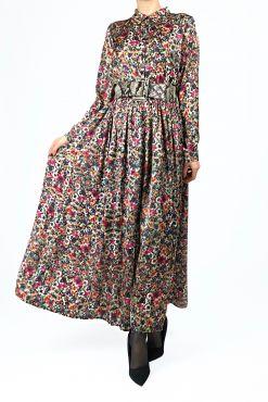 Ilga gėlėta suknelė Patricia Silk Flowers Long dress