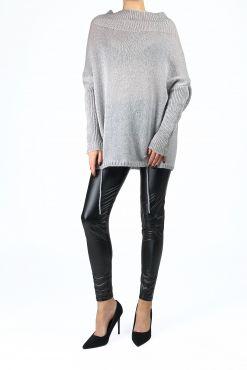 Stilingas megztukas su mohieru DARK GREY ILPIU sweater warm mohair
