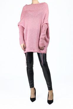 Stilingas megztukas su mohieru PINK ILPIU sweater