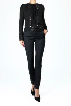 Klasikinės kelnės Black Frezia pants trousers kelnes klasikines