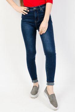 Klasikiniai džinsai GOODIES DARK BLUE LINE jeans tamsiai melynui classic