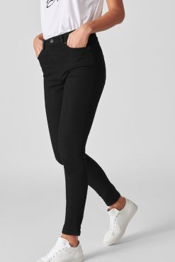Juodi džinsai Goodies Black NORMAL Medium & High waist jeans black juodi dzinsai