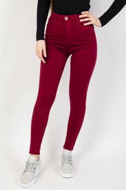 Spalvoti džinsai BORDO colored jeans