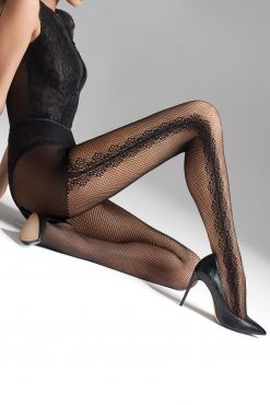 Tinklinės pėdkelnės Marilyn CHARLY P03 tights net mesh