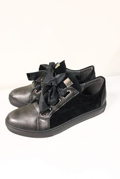 Odiniai laisvalaikio bateliai BLACK NO WORDS leather casual leisure shoes