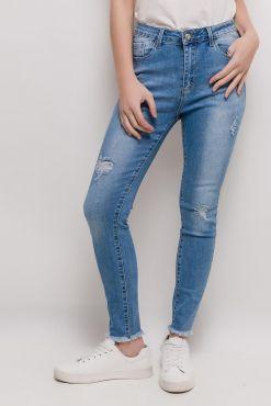 Džinsai LAULIA CLASSIC RIPPING 1 jeans