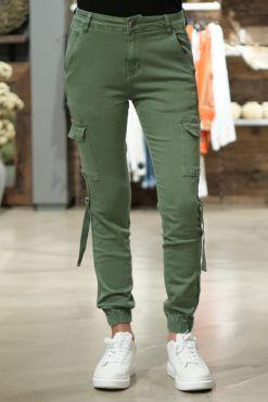 Laisvalaikio džinsai su kišenėmis GREEN CARGO jeans