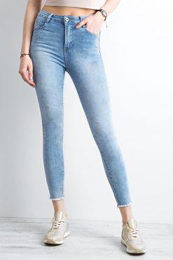 Klasikiniai džinsai kirptais galais CLASSIC CUT