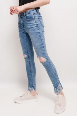 Plėšyti džinsai LAULIA END DESTROYED jeans