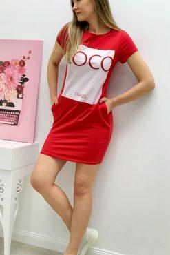 """Laisvalaikio suknelė tunika """"COCO colours"""""""