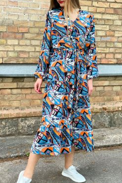"Ilga lengva suknelė ""SASHA - PICASO"""