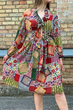 "Ilga lengva suknelė ""SASHA - ROMANTIC ROMBS"""